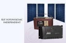 Kit fotovoltaic independent pentru casă