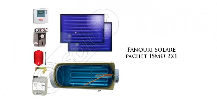 Panouri solare plane pachet ISMO prețuri ieftine