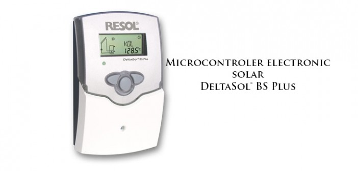 Microcontroler electronic solar DeltaSol BS Plus