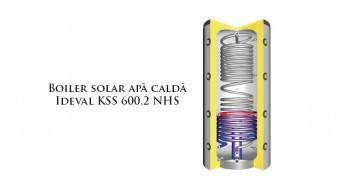 Boiler solar pentru apă caldă Ideval