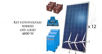 Kit fotovoltaic hibrid off-grid prețuri