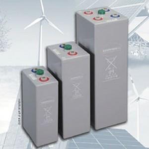 Acumulatori cu gel Hoppecke 4 OpzV solar.power 250 pentru stațiile de energie