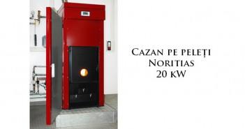 Cazan pe peleți 20 kW prețuri ieftine
