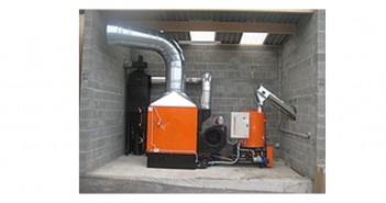 Centrale termice pe peleți Edana 40 kW