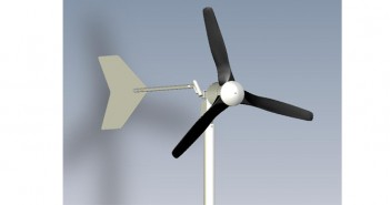 Turbină eoliană mică pentru casă Idella FlyBoy 600W prețuri mici