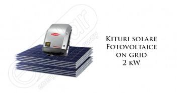 Kituri solare fotovoltaice on grid 2 kW