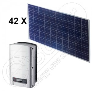 Panouri fotovoltaice kit 10,5 KW on-grid
