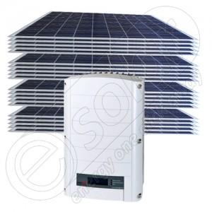 Sistem fotovoltaic 5 KW de rețea on grid la prețuri ieftine