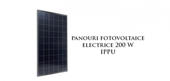 Panouri solare fotovoltaie electrice 200 W