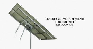 Tracker cu panouri solare fotovoltaice ieftin