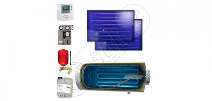 Sistem ecologic de încălzire a apei cu panouri solare preț