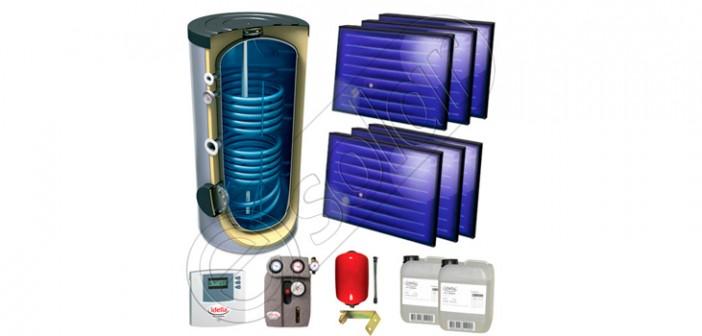 Set panouri solare pentru apă caldă preț