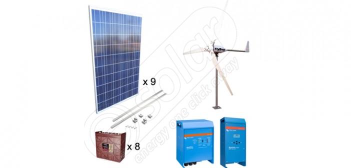 Sisteme solare 2250W şi eoliene 600W hibride pentru irigaţii în agricultură preț