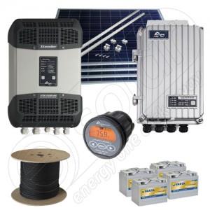 Sisteme solare fotovoltaice la cheie de 1kW putere instalată preț