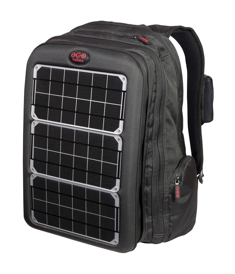 Rucsac De Laptop Cu Panouri Solare Cu Celule Fotovoltaice Array 10w Vol