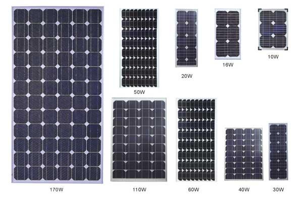 Panou solar fotovoltaic 12v
