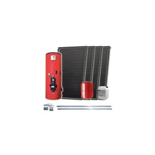 Kit Panouri Solare Ifst2 05 Cu Rezervor Solar Solarbag 500.2 Cu Dubla Serpentina