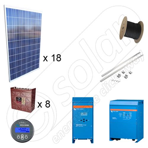 Instalatie Cu Panouri Solare La Cheie 4.5kw Putere Instalata Cu Structura De Montaj Pentru Acoperis Inclinat