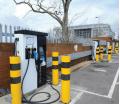 Statii de incarcare rapida pentru masini hibride si electrice 50kW DC cu afisaj TFT si cititor card RFID