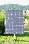 Instalatii solare fotovoltaice pentru urmariea soarelui si cresterea productiei de energie