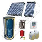 Set panouri solare cu tuburi vidate fabricate in China, SIU 2x10-2x20-800.1BM pachet panouri solare cu tuburi vidate, Panouri solare cu boiler solar import China