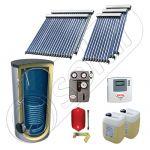 Panouri solare cu tuburi vidate fabricate in China, Panouri solare import China la set cu boiler solar, SIU 3x10-2x20-750.1BM set panouri solare cu tuburi vidate si boiler