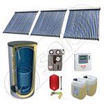 Pachet panouri solare cu tuburi vidate si boiler SIU 3x20-750.1BM, Panouri solare cu tuburi vidate fabricate in China, Set panouri solare import China cu boiler solar