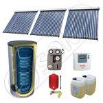 Pachet panouri solare cu tuburi vidate si boiler SIU 3x20-750.2BM, Panouri solare cu tuburi vidate fabricate in China, Set panouri solare import China cu boiler solar