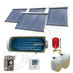 Panouri solare vidate cu boiler solar la pret rezonabil, Instalatie solara cu tuburi vidate cu boiler orizontal SIU 3x20-1x30-750.1BMH, Set colectoare solare cu boiler pentru apa calda tot timpul anului