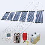 Pachete colectoare solare apa calda tot anul, Set panouri solare ieftine pentru apa calda SIU 6x10, Seturi colectoare solare Solariss Iunona