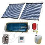 Panou solar ieftin pentru apa calda si boiler cu o serpentina, Panou solar china Solariss Iunona, Colectoare solare cu boiler monovalent de 300 litri