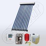 Set panou solar cu 10 tuburi vidate, Pachet cu panou solar cu tuburi vidate, Panouri cu tuburi vidate pentru apa calda SIU 1x10
