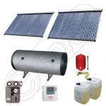 Panouri solare import China Solariss Iunona, Panouri solare ieftine cu tuburi vidate si boiler fabricate in China, Colectoare solare  cu tuburi vidate si boiler SIU 2x30-750.2BMH