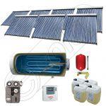 Set Solariss Iunona panouri solare cu boiler, Pachete colectoare solare cu tuburi vidate si boiler, Instalatii solare fabricate in China SIU 7x22-1500.1BMH