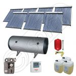 Seturi colectoare solare cu tuburi vidate si boiler, Panouri solare cu tuburi vidate import China, Set colectoare solare pentru apa calda SIU 7x18-1000.2BMH