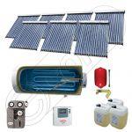 Seturi colectoare solare cu tuburi vidate si boiler, Panouri solare cu tuburi vidate import China, Set colectoare solare pentru apa calda SIU 7x18-1500.1BMH