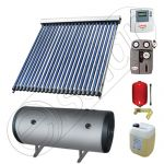 Instalatii solare cu tuburi vidate fabricate in China, Seturi colectoare solare pentru apa calda cu boiler orizontal, Instalatie solara cu tuburi vidate cu boiler termoelectric SIU 1x22-100.2TEH