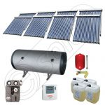 Instalatii solare presurizate pentru apa calda si caldura, Instalatie solara vidata cu boiler orizontal SIU 8x18-1500.2BMH, instalatie cu panouri solare vidate la pret rezonabil