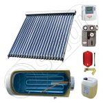 Instalatii solare cu tuburi vidate fabricate in China, Seturi colectoare solare pentru apa calda cu boiler orizontal, Instalatie solara cu tuburi vidate cu boiler termoelectric SIU 1x22-120.1TEH