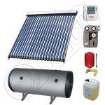 Instalatii solare cu tuburi vidate fabricate in China, Seturi colectoare solare pentru apa calda cu boiler orizontal, Instalatie solara cu tuburi vidate cu boiler termoelectric SIU 1x22-120.2TEH