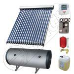 Set boiler cu doua serpentine si panouri solare ieftine, Instalatii panouri solare Solariss Iunona, Pachet cu panou solar apa calda tot anul