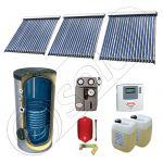 Panou solar ieftin cu tuburi vidate si boiler cu o serpentina, Panou solar china Solariss Iunona, Panouri solare China cu boiler monovalent de 500 litri
