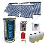Pachet panouri cu tuburi vidate si boiler SIU 5x18-1000.2BM, Seturi panouri solare cu tuburi vidate, Pachete panouri solare cu tuburi vidate fabricate in China