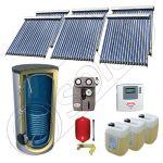 Panouri solare ieftine cu tuburi vidate si boiler SIU 6x18-750.1BM, Panouri solare cu tuburi vidate si boiler 750 litri, Pachete panouri solare cu tuburi vidate import China