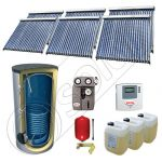 Set panouri solare cu tuburi vidate fabricate in China, Pachet panouri solare cu tuburi vidate si boiler 1500 litri, Set panouri solare ieftine cu tuburi vidate si boiler SIU 6x22-1500.1BM