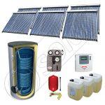 Set panouri solare cu tuburi vidate fabricate in China, Pachet panouri solare cu tuburi vidate si boiler 1500 litri, Set panouri solare ieftine cu tuburi vidate si boiler SIU 6x22-1500.2BM