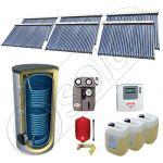 Set panouri solare cu tuburi vidate fabricate in China, Pachet panouri solare cu tuburi vidate si boiler 1500 litri, Set panouri solare ieftine cu tuburi vidate si boiler SIU 6x30-1500.2BM