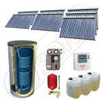 Seturi panouri solare import China cu boiler SIU 7x30-1500.2BM, Solariss Iunona set panouri solare si boiler 1500 litri, Seturi panouri solare cu tuburi vidate si boiler 1500 litri