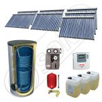 Seturi panouri solare import China cu boiler SIU 7x30-2000.2BM, Solariss Iunona set panouri solare si boiler 2000 litri, Seturi panouri solare cu tuburi vidate si boiler 2000 litri
