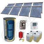 Panouri solare import China cu boiler SIU 8x18-2000.2BM, Solariss Iunona pachet panouri solare si boiler 2000 litri, Seturi panouri solare cu tuburi vidate si boiler 2000 litri